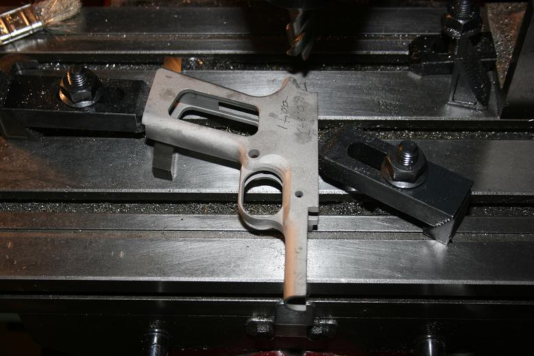 Single Stack 1911 Type Double Action Frame Casting