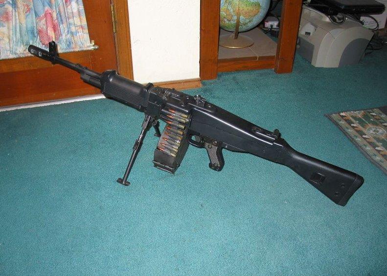 MP43sniper belt-fed AK entry